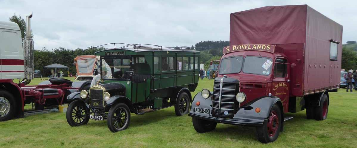 vintage lorries and buses